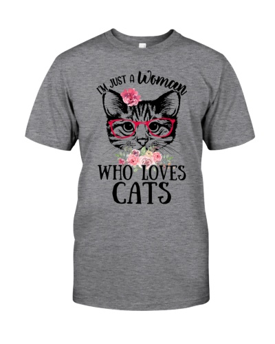 I'm just a woman who loves Cats