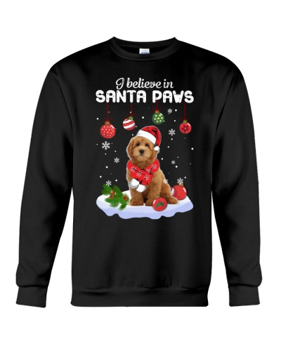 Goldendoodle Santa Paws