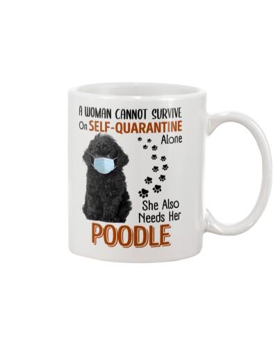 Quarantine With Black Poodle