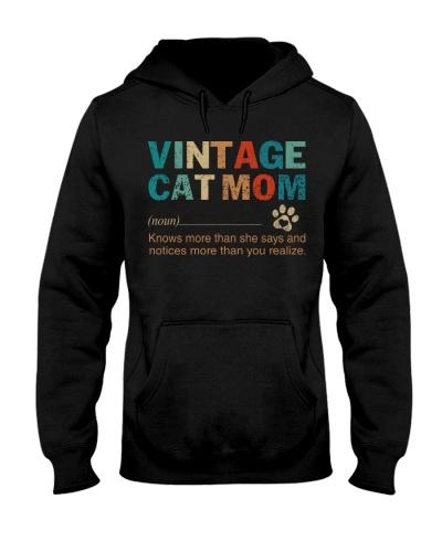 Vintage Cat Mom