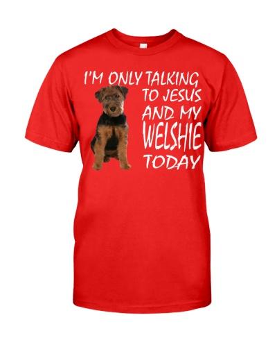 Welsh Terrier and Jesus