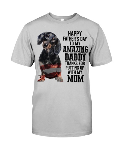 Father Day - Dachshund
