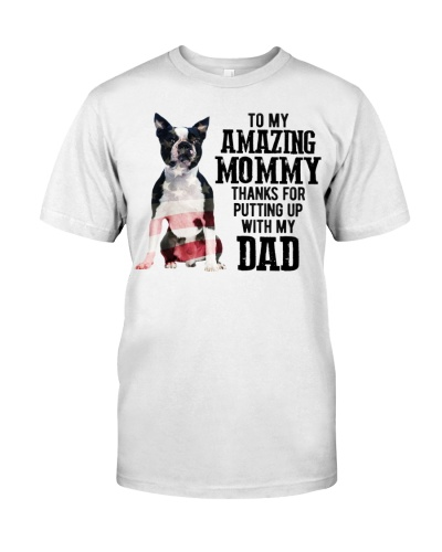Amazing Mommy - Boston Terrier Dog