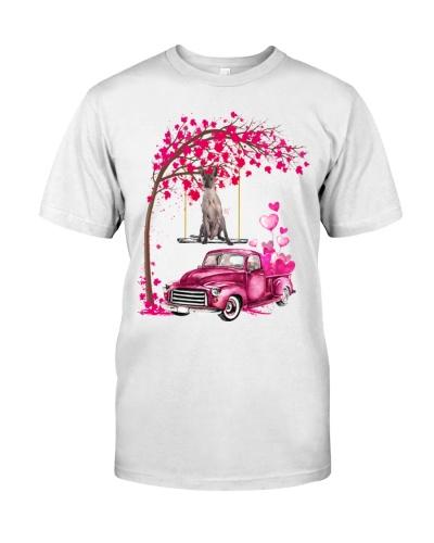 Xoloitzcuintli - Tree Love Valentine