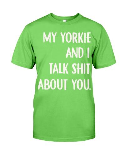 My Yorkie