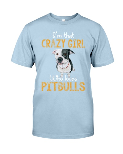 Crazy Pitbull Girl