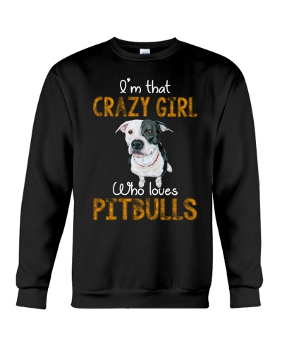 Crazy Pitbull Girl