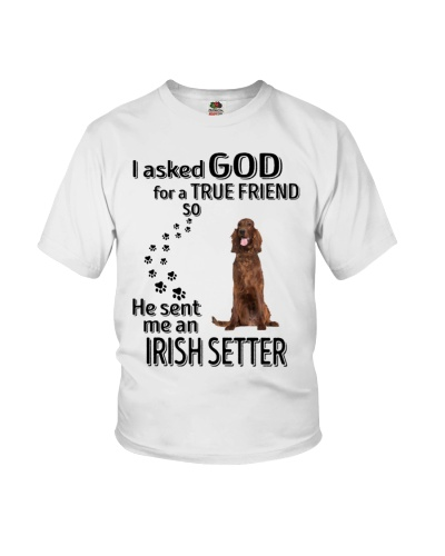 Irish Setter True Friend