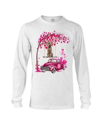 Weimaraner - Tree Love Valentine