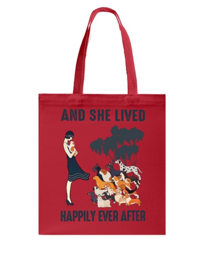 She Lived Happily Dogs