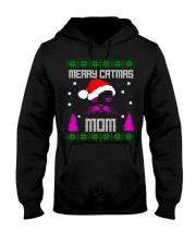 Merry Christmas Kitty Mom Hooded Sweatshirt front