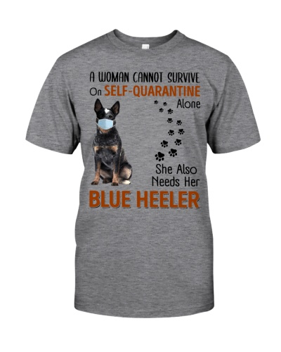 Quarantine With Blue Heeler