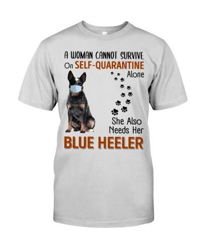 Quarantine With Blue Heeler