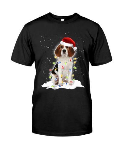 Beagle Christmas Lights