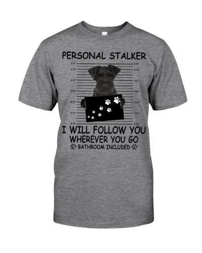 Personal Stalker Black Miniature Schnauzer
