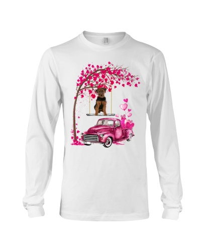 Welsh Terrier - Tree Love Valentine
