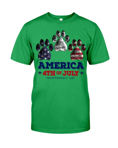 Dog America 4th Of July