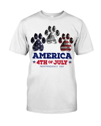Dog America 4th Of July