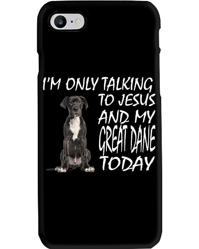 Great Dane and Jesus