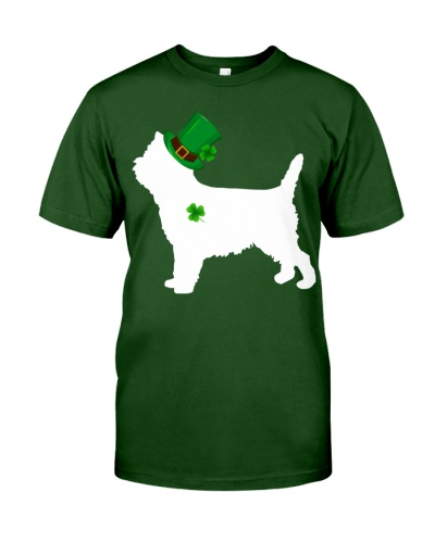 Cairn Terrier Lucky Patrick's Day