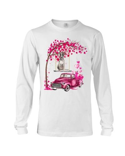 Whippet - Tree Love Valentine