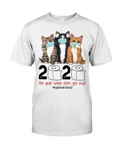 Cat 2020 Quarantined