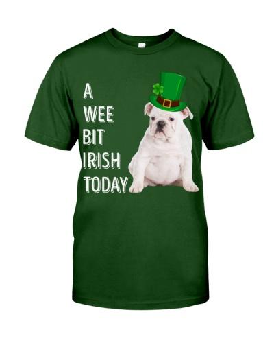 White English Bulldog Irish Today