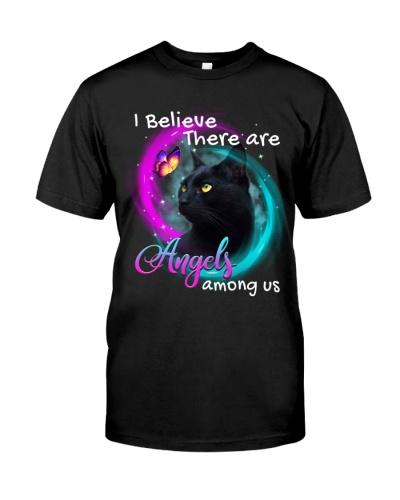 I believe angels among us Cat