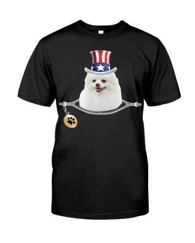 Zip - White Pomeranian