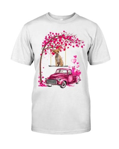 Chihuahua - Tree Love Valentine