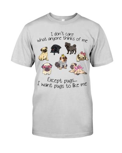 I don't care Pug
