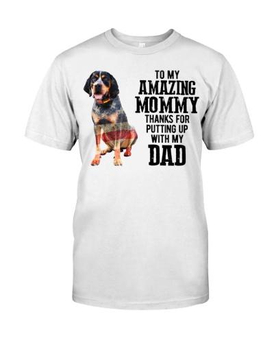 Amazing Mommy - Bluetick Coonhound