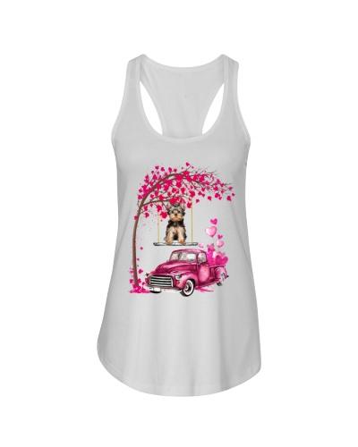 Yorkshire-Terrier - Tree Love Valentine