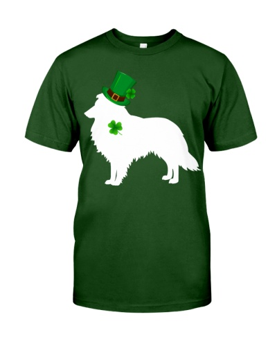 Rough Collie Lucky Patrick's Day
