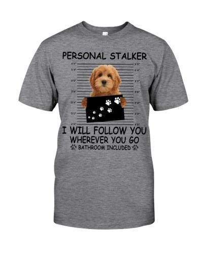 Personal Stalker Goldendoodle