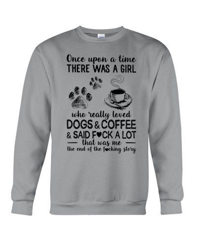 A Girl  love Dogs and Coffee