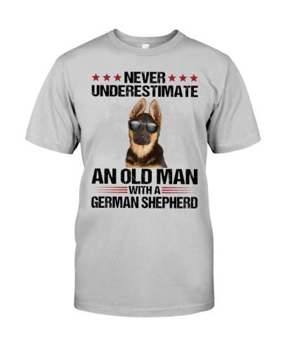 Old Man German Shepherd