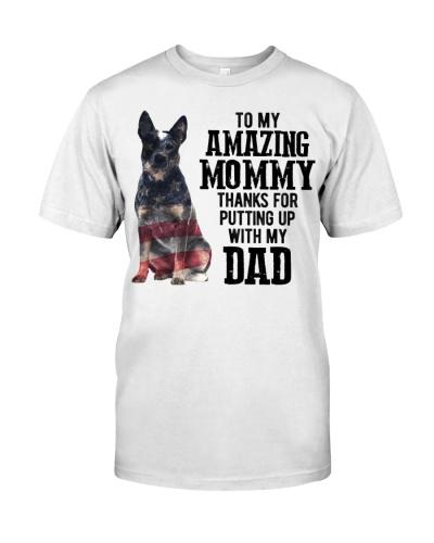 Amazing Mommy - Blue Heeler Dog