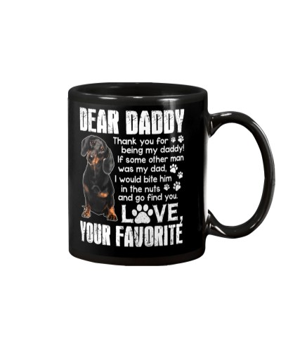 Dear Daddy Dachshund Mug
