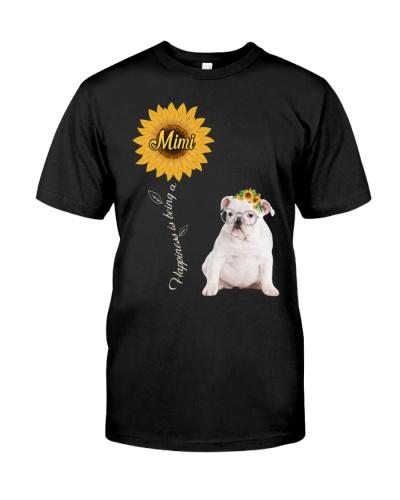 White English Bulldog Mimi Sunshine