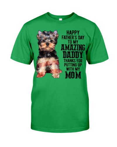 Father Day - Yorkshire Terrier