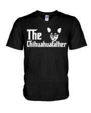 The Chihuahua Father V-Neck T-Shirt thumbnail