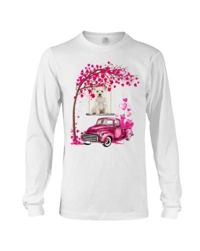 Westie - Tree Love Valentine