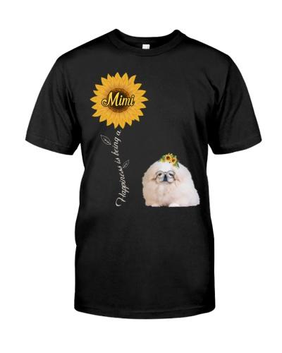 White Pekingese Mimi Sunshine