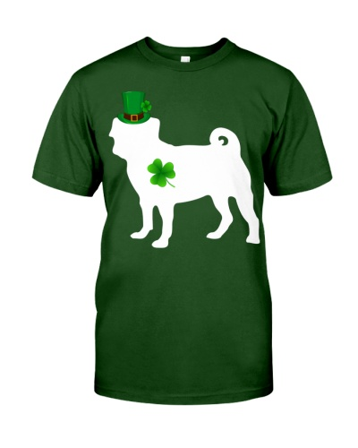 Pug Lucky Patrick's Day