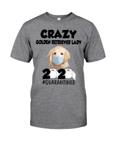 Crazy Golden Retriever Lady Quarantined