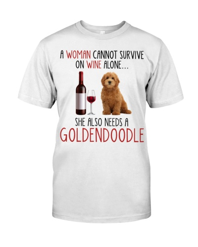 She Also Needs - Goldendoodle