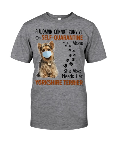 Quarantine With Yorkshire Terrier
