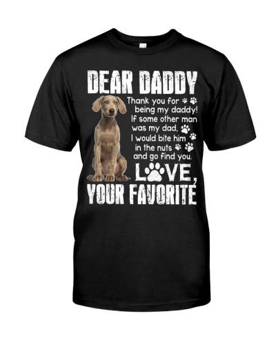 Weimaraner - Dear Daddy
