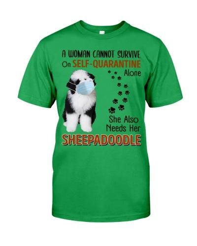 Quarantine With Sheepadoodle